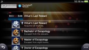 Virtue's Last Reward (PS Vita)