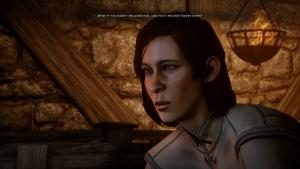 Didn't really spend too much time creating my character, mostly just defaults. She's scowling all the time though