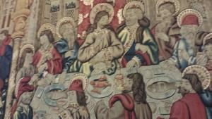 This last supper tapestry looked like they were Chinese