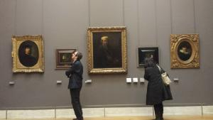 Rembrandt and his selfies