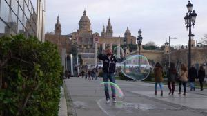 Bubble Guy -- Photo Credit: Ryan Liwanag