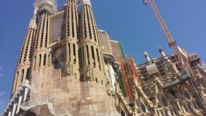 Sagrada Familia -- Under Construction