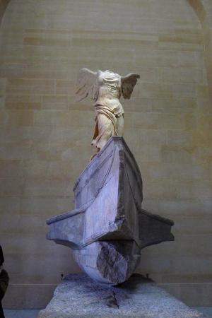 The Winged Victory of Samothrace. Well, I may have accidentally clicked on the detailed guide for  this piece and thus spent some extra time here