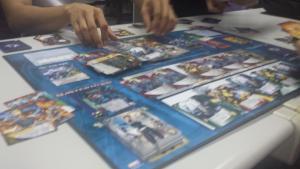 Impromptu Marvel Legendary game night! (Evil won)