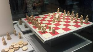 The Lewis chessmen, supposedly the most well known chess set in the world. Why haven't I heard of it before? And what happened to that missing rook?
