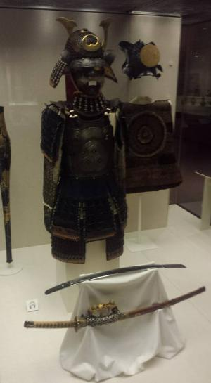 Medieval-era samurai armor. Didn't fit me.