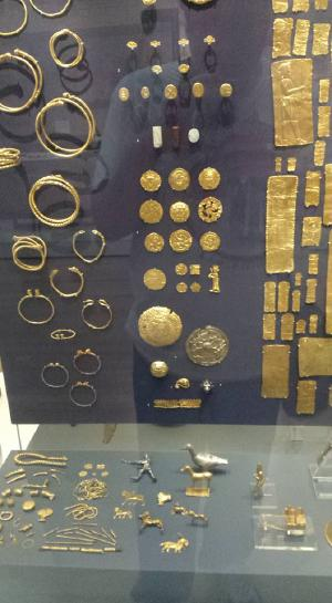 Oxus treasure, fabulous metalwork from ancient Iran