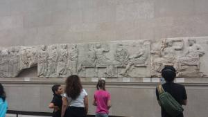 Sculptures from the Parthenon. They should give them back, Greece could use the tourist dollars