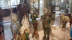 Some statues recovered from the tomb of a Tang dynasty general. I don't see the resemblance