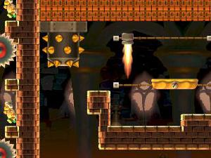 Posted in MiiVerse's Super Mario Maker Community: Spoony Castle  (39DF-0000-01F1-09F5)