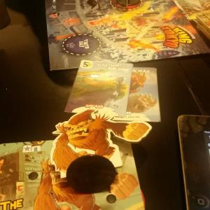 I was not the King of Tokyo