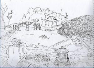Garden #sketchdaily