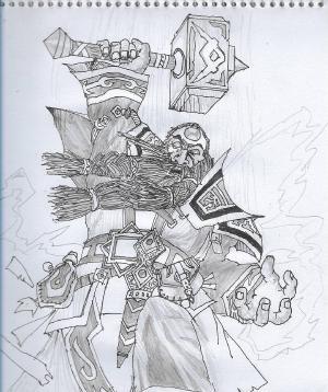 Emperor Thaurissan #sketchdaily #hearthstone