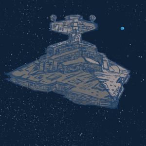 Star Destroyer #sketchdaily #starwars