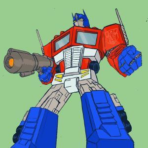 Optimus #sketchdaily #transformers