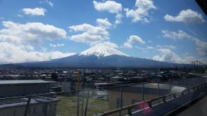 I went to Fuji, but that's not in Tokyo!