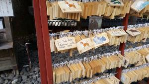 There's a lot of temples in Tokyo (and the rest of Japan) where you can send prayers like this one here
