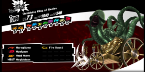 When dungeon crawling, you can summon mighty persona in battle! They're like Pokemon, only way more phallic.