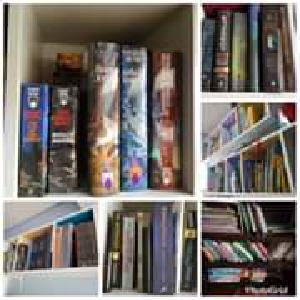 Survey: what does your bookshelf look like?