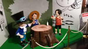 Posted on r/OnePiece: I was organizing some old photos and found some from an Apr 2017 visit to the One Piece exhibit at Tokyo Tower. I'm not the best at photography, but I thought you guys might want a look