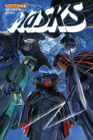 Masks #1 cover art by Alex Ross