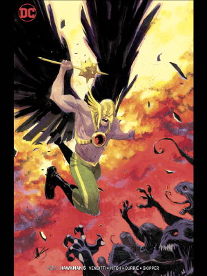 Hawkman v5 #5 variant cover by Matteo Scalera