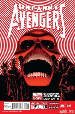 Uncanny Avengers (2012) #2 covert art by John Cassaday