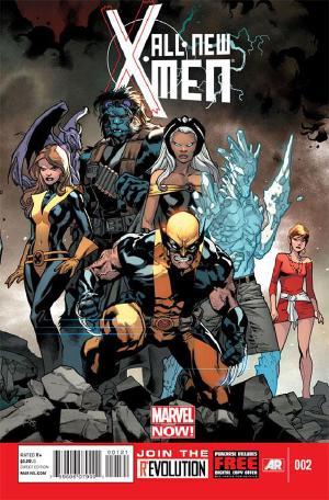 All-New X-Men #2 covert art by Stuart Immonen