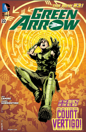 Green Arrow (New 52) #22 by Jeff Lemire and Andrea Sorrentino