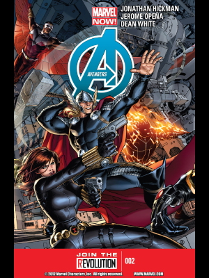 Avengers #2 cover by Jerome Opena
