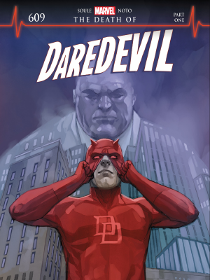 Daredevil #609 cover art by Phil Noto