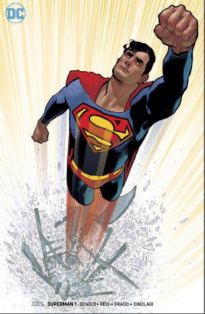 Superman (2018) #1 Adam Hughes variant cover