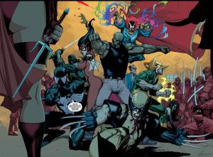 sevenheadstencrowns: New Avengers by Leinil Francis Yu