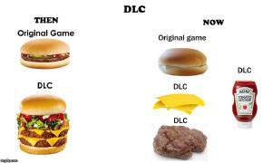DLC as Burgers