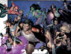 House of M #6 by Olivier Coipel