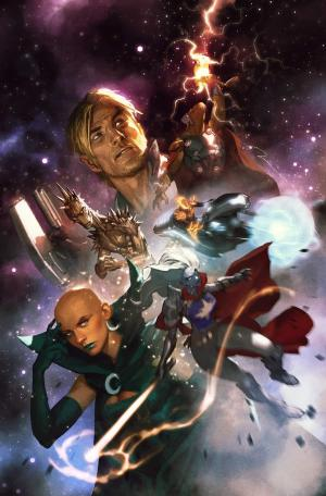 bear1na: Guardians of the Galaxy #1 variant cover by Gerald Parel *