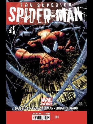 Superior Spider-man #1 cover by Ryan Stegman
