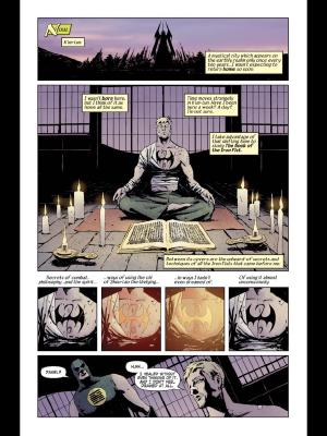 Immortal Iron Fist #8 by Fraction, Brubaker and Aja