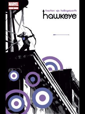 Hawkeye (2012) #1 cover by David Aja