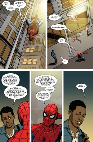 """why-i-love-comics:  Peter Parker: The Spectacular Spider-Man #310 - """"Finale"""" (2018) written by Chip Zdarskyart by Chip Zdarsky"""