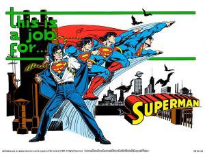 jetslay:  Clark Kent changing into Superman sequence. Artworks by Jorge Jimenez, Cliff Chiang, José Luis García-López, Alex Ross, and Brian Stelfreeze.