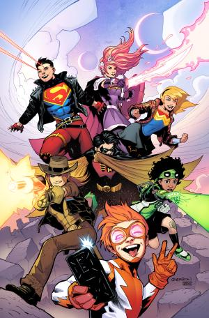Young Justice (2018) #1 cover by Patrick Gleason