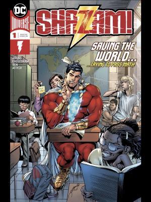Shazam #1 cover by Dave Eaglesham