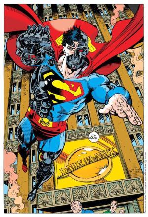 travisellisor: page 62 from Adventures of Superman #500 by Dan Jurgens, Brett Breeding, Glenn Whitmore and John Costanza