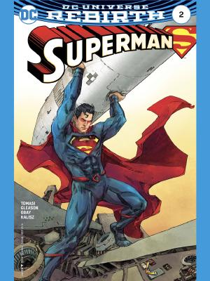 Superman (DC Rebirth) #2 variant cover by Kenneth Rocafort