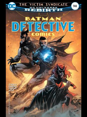 Detectiv Comics #944 cover art by Martinez, Fernandez and Anderson