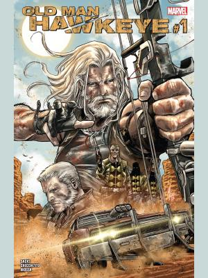 Old Man Hawkeye #1 cover by Marco Chechetto