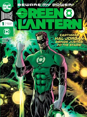The Green Lantern (2018) #1 cover by Liam Sharp