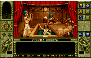 Waxworks: The pyramid level was the one we were most familiar with, since it was the first one available.