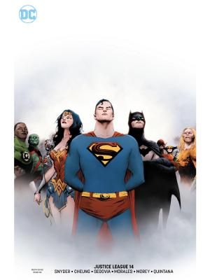 Justice League (2018) #14 variant cover by Jae Lee